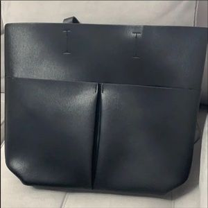 Neiman Marcus Tote Bag Faux Leather